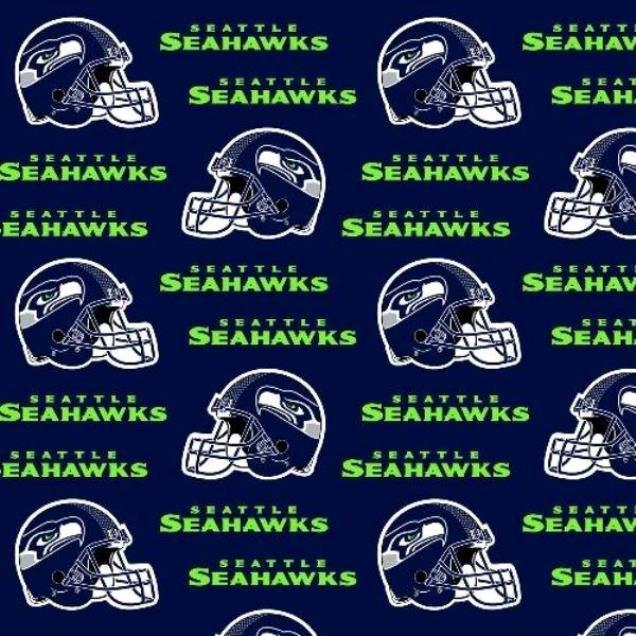 NFL Logo Seattle Seahawks 6402 Navy