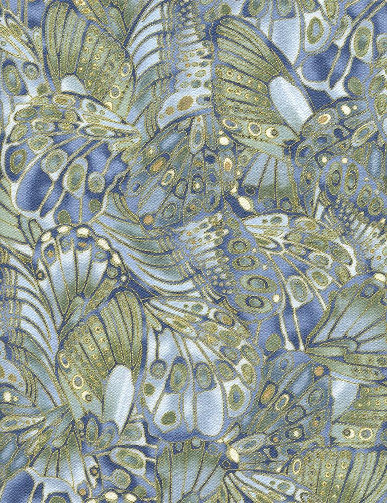 Shimmer Butterfly Wings CM9296 Silver