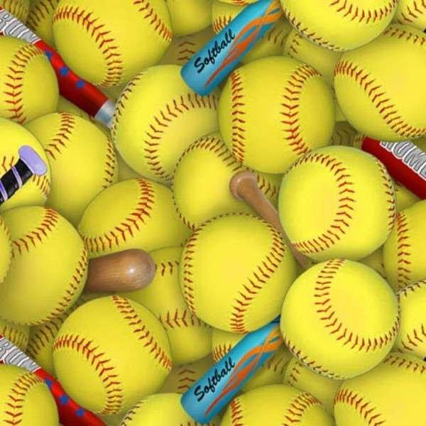 Softballs & Bats 426 Yellow