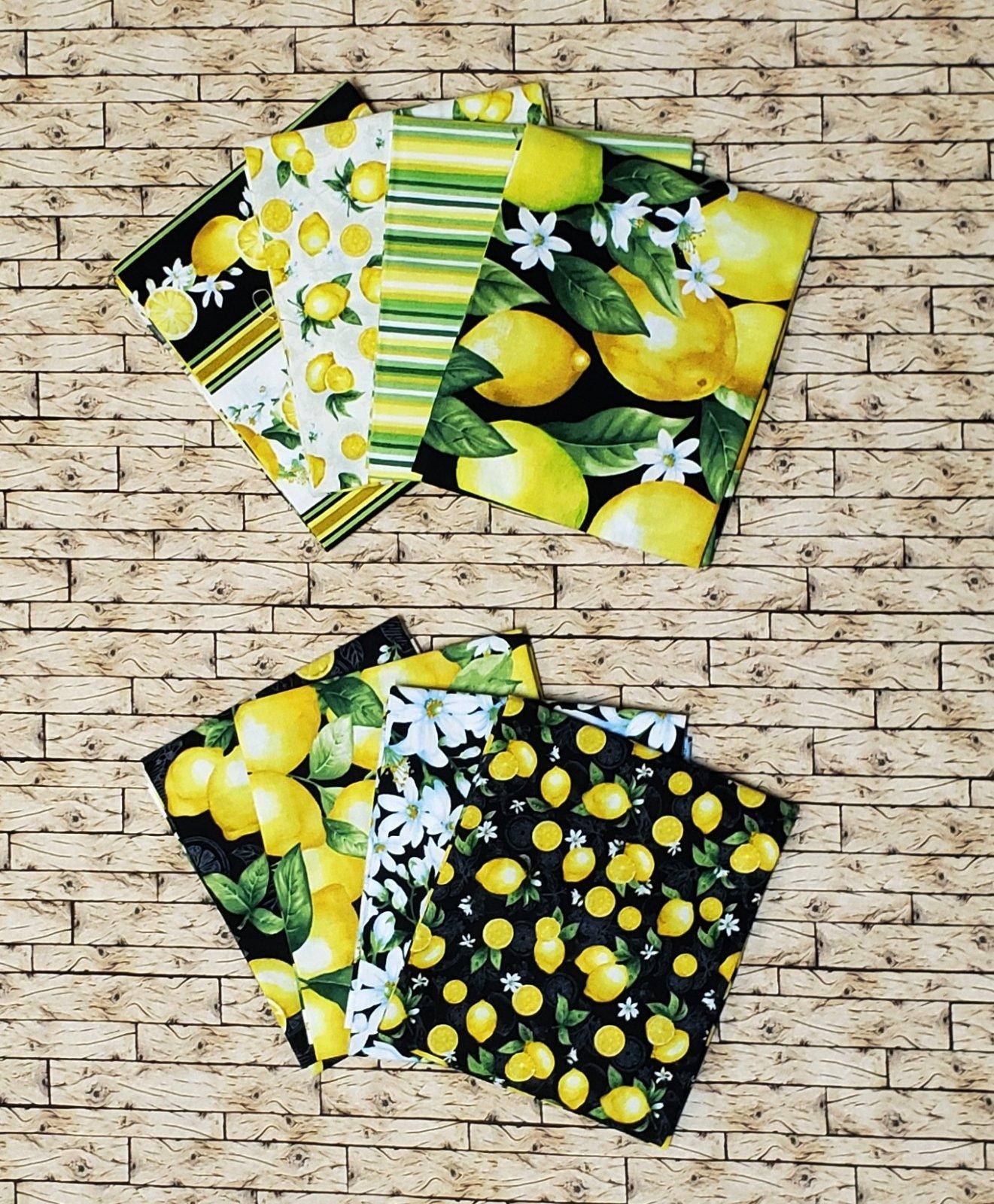 Splash of Lemon 9 pc. Fat Quarter Bundle 9524