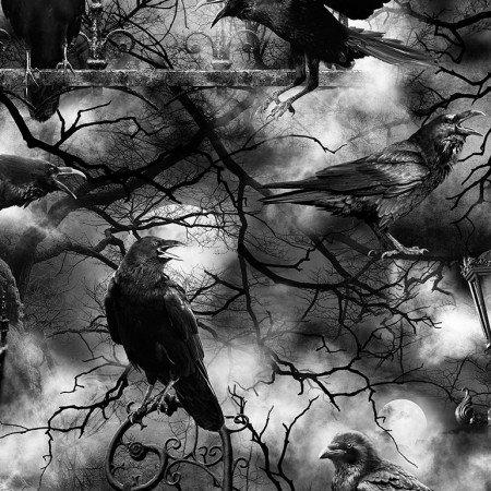 Spooky Crows C7885