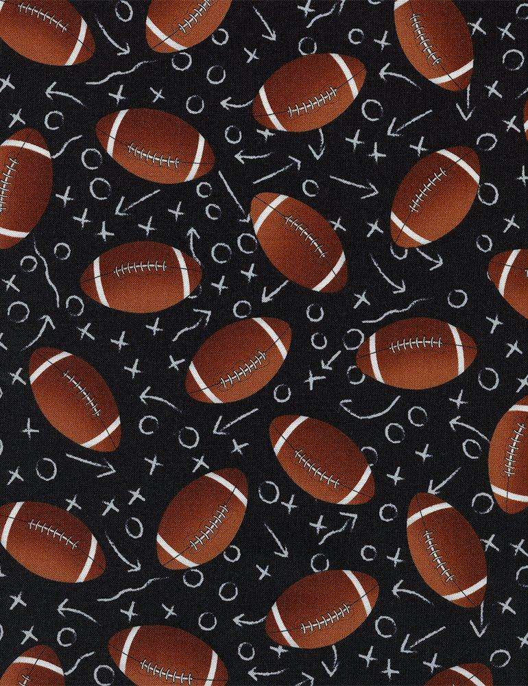 Sports Footballs C1228 Blk