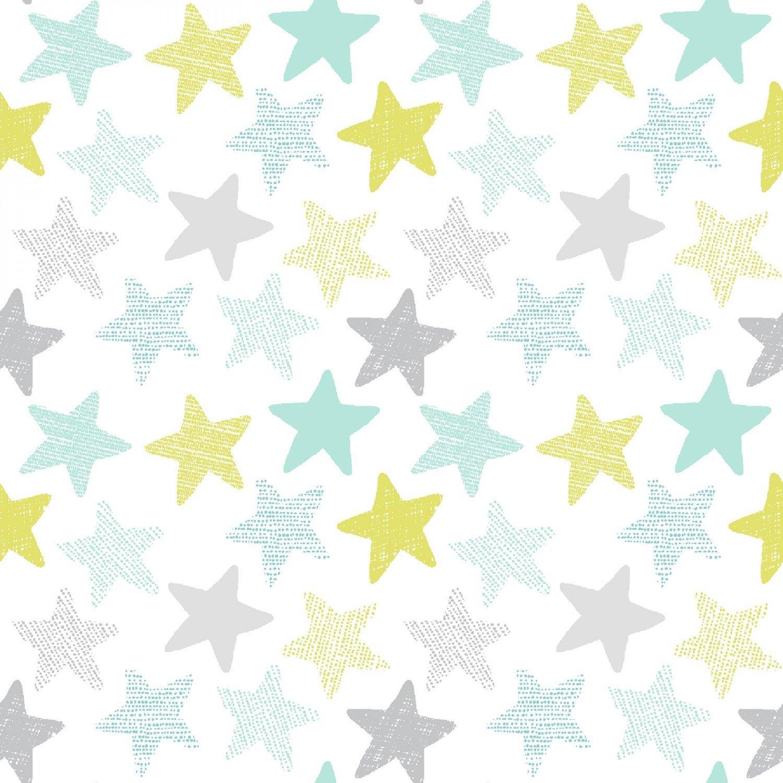 Stars on White 1152