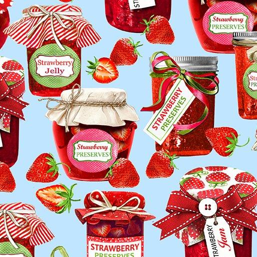 Strawberry Jam 9767 Blue