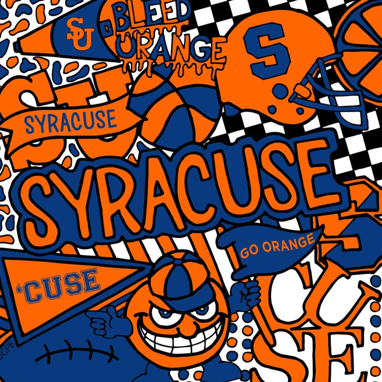 NCAA Syracuse 1165 Pop Art