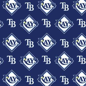 MLB Logo Tampa Bay Rays 6656B Blue