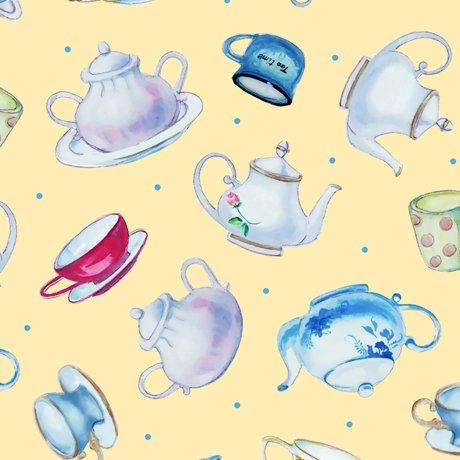Teapots 27824 Yellow