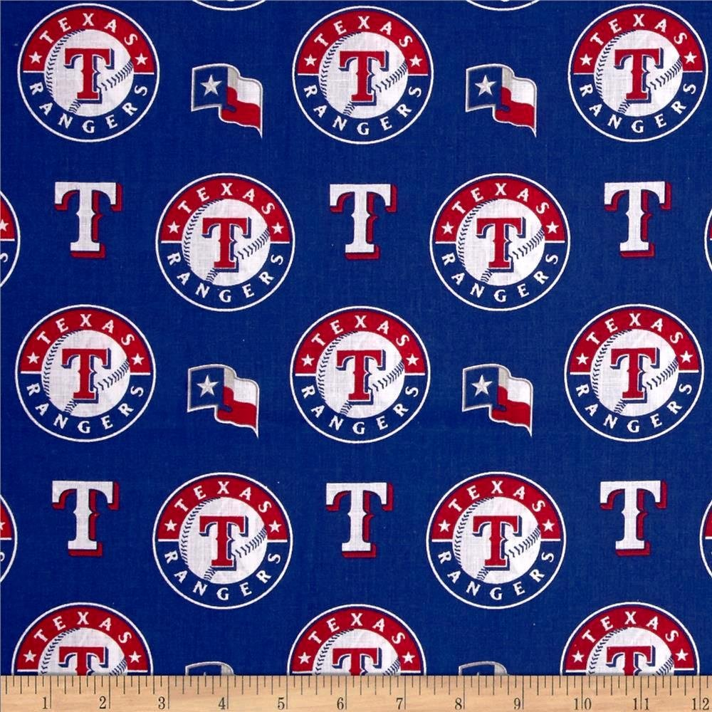 MLB Logo Texas Rangers 6657B Blue
