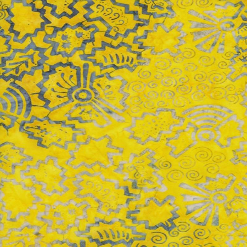 Tonga Batik B8425 Yellow