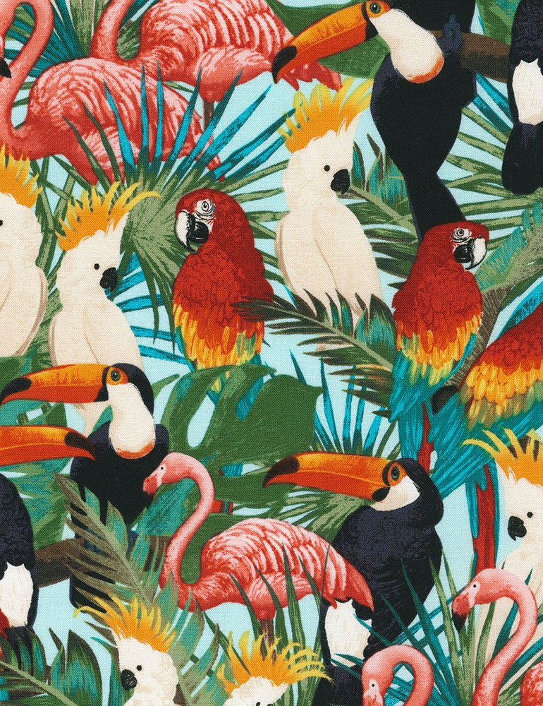 Tropical Birds C6539 Bright