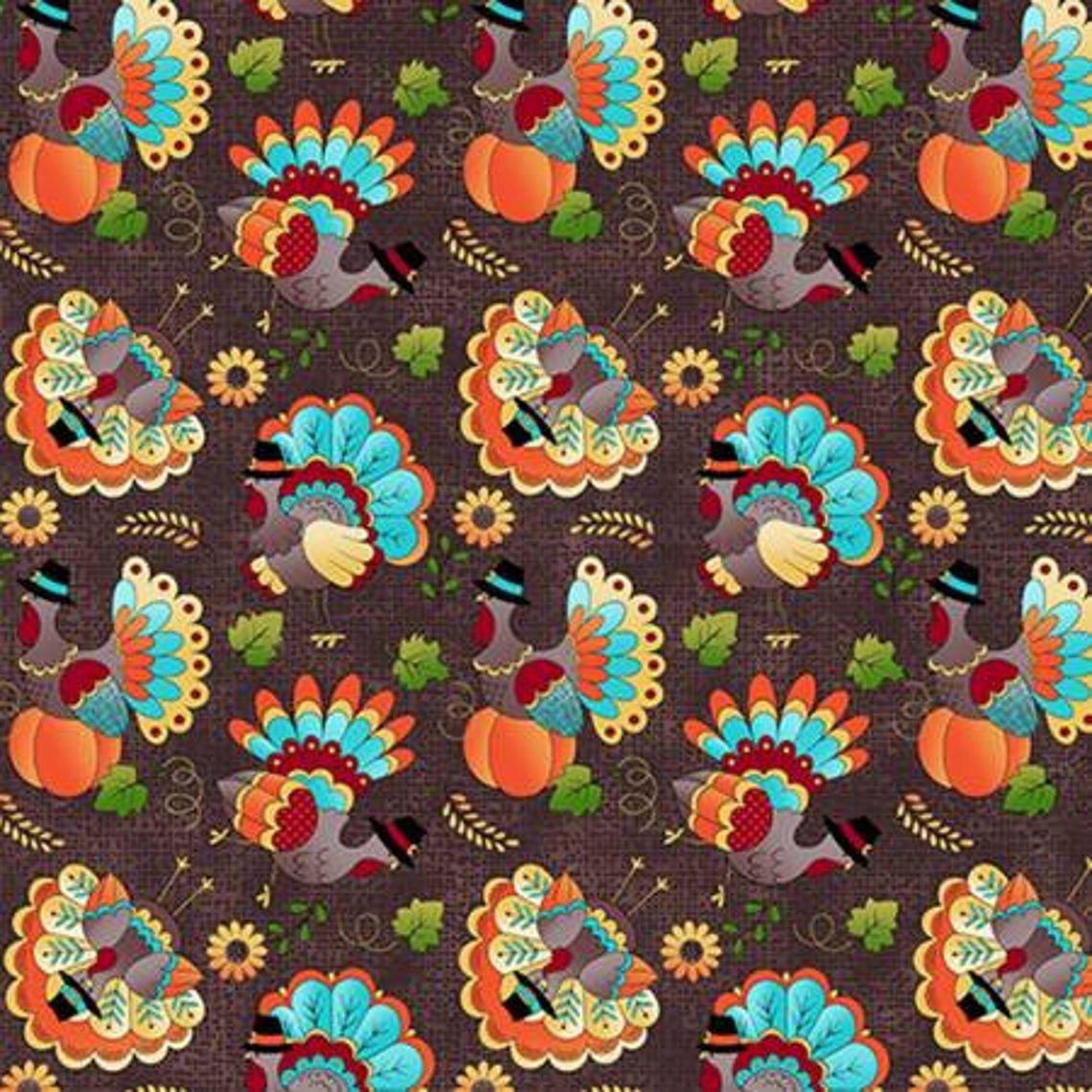 Festive Turkeys 17834