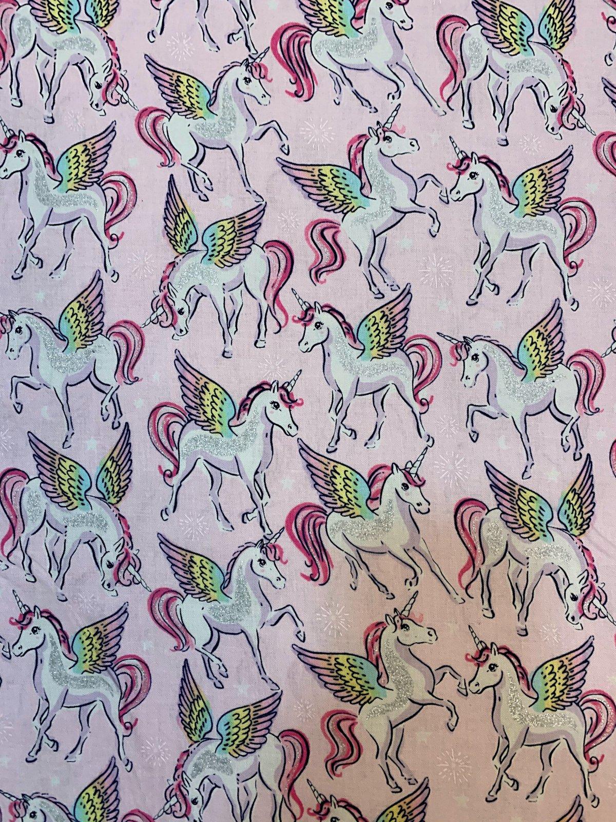 Unicorn CM7443 Pink Glitter