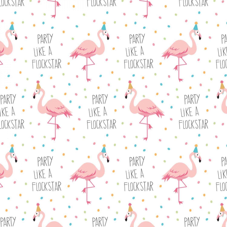 Very Punny 21181707 Party Like a Flockstar Flamingo