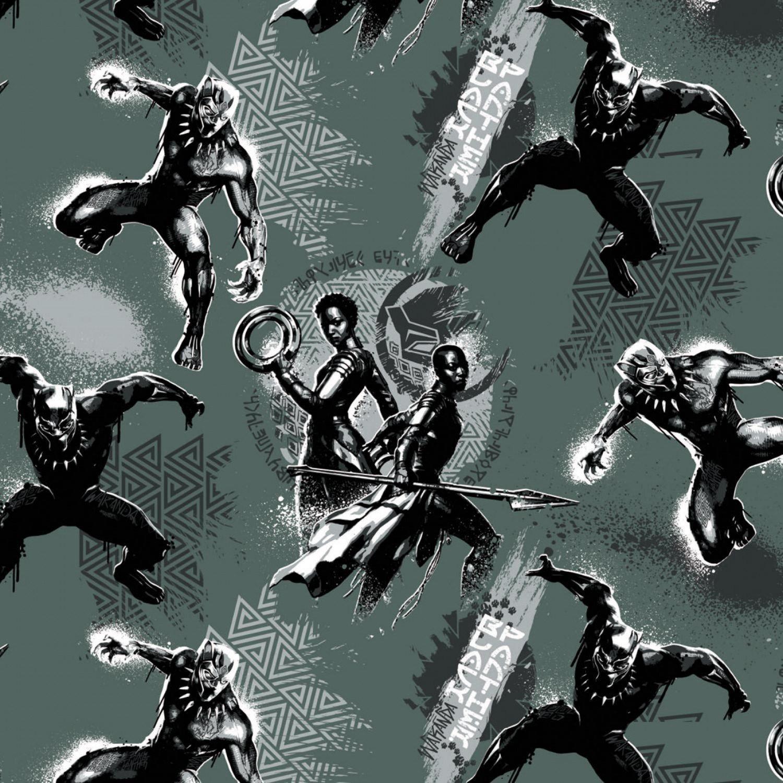 Black Panther 13020444-05 Wakandans Green