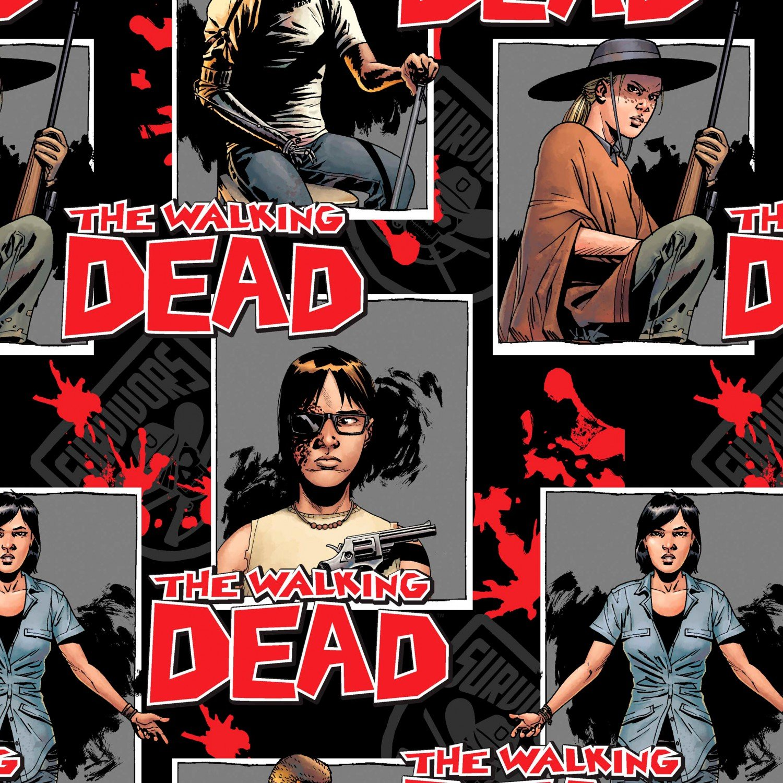 END OF BOLT - Walking Dead Ready for War 57588 .75 YD