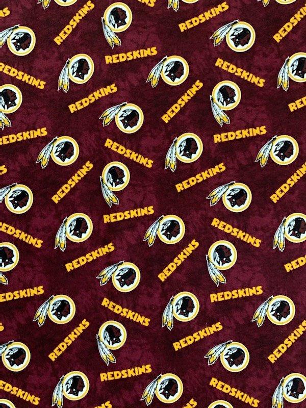 NFL Logo Washington Redskins 14938 FLANNEL 45