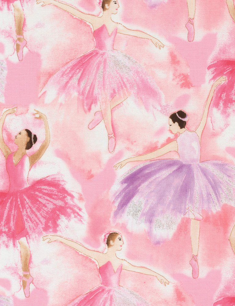 Watercolor Ballerinas CM6890 Pink
