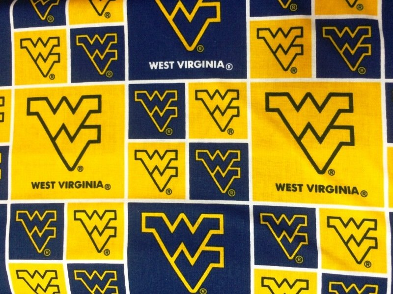 NCAA West Virginia Mountaineers 020 Blocks