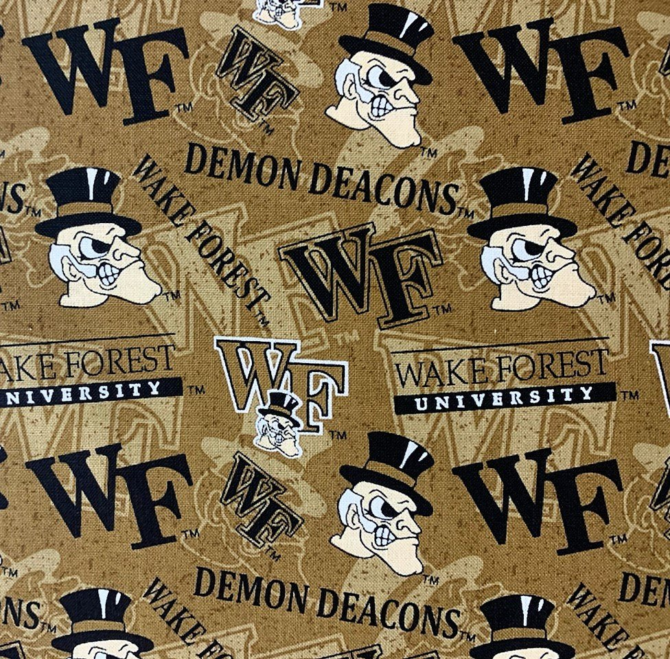 NCAA Wake Forest Demon Deacons 1178 Packed Toss