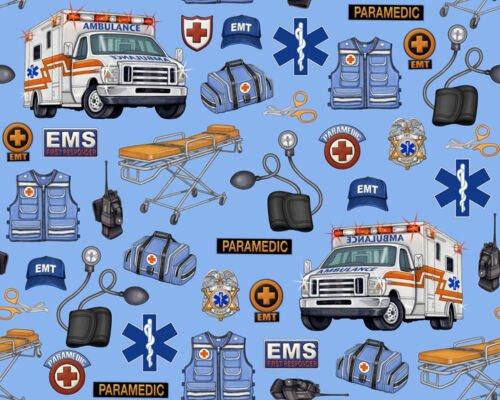 Medical EMS Gear 24924-B Blue
