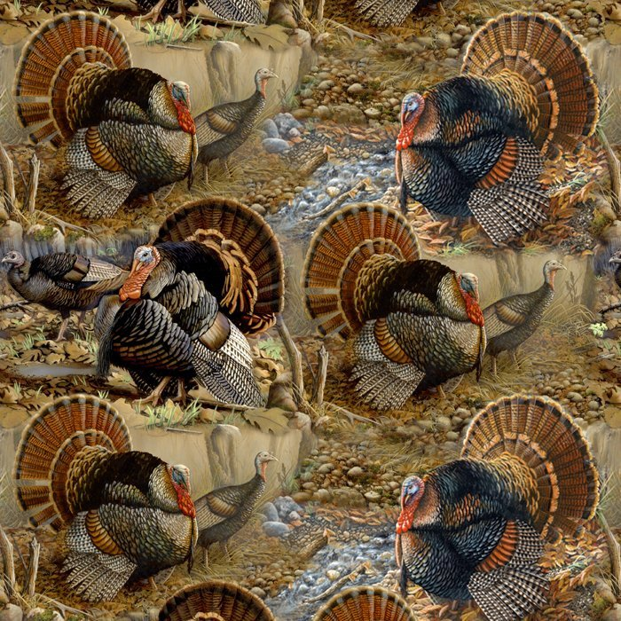 Wild Turkey 0071 All Over