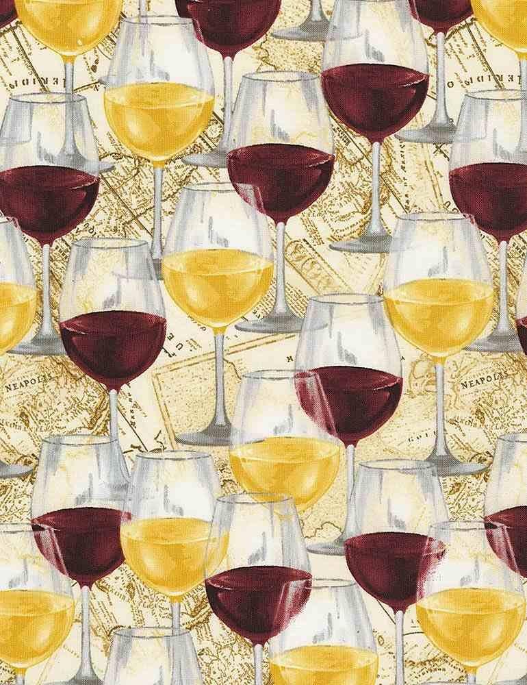 Wine Glasses C7369 Multi