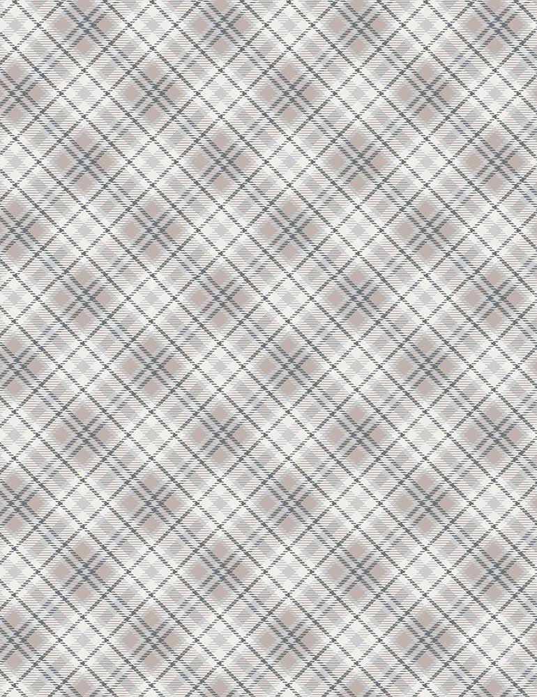 Winter Plaid C7476 Cream