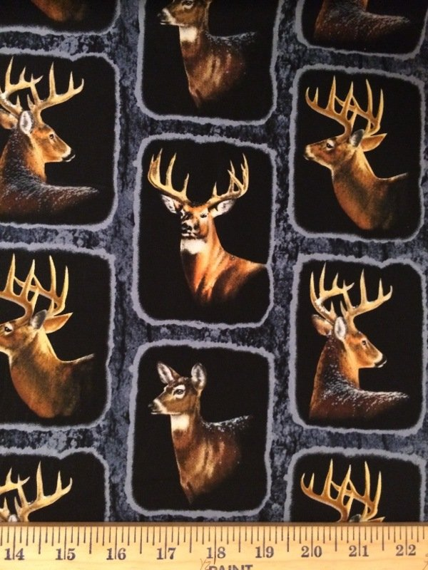 Wintergreen Deer Frames 53275 Black