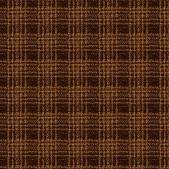 Wool Plaid 26895-A Dark Brown