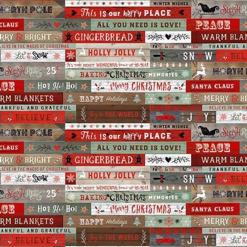 Christmas Memories 5254-81 Words on Wood