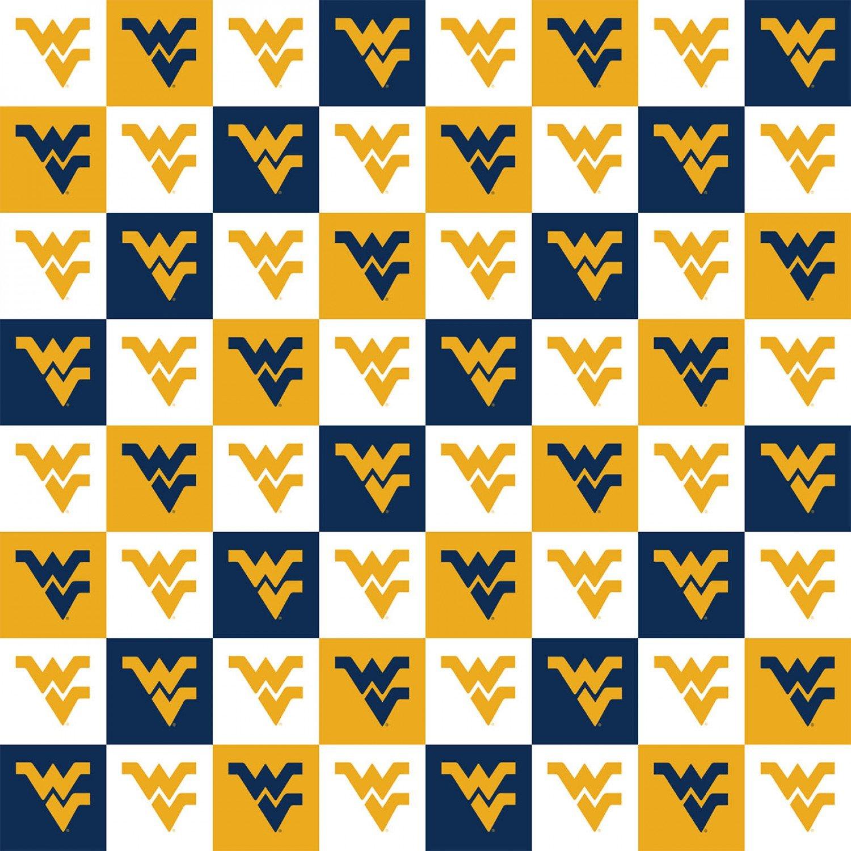 NCAA West Virginia Mountaineers 1158 Tiles