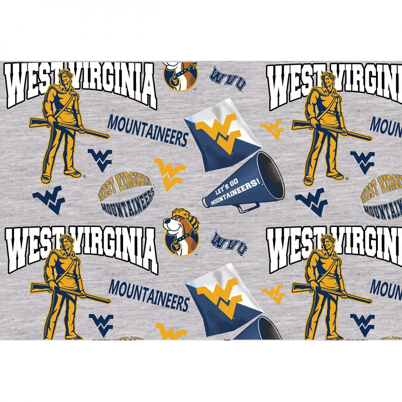 NCAA West Virginia Mountaineers 1164 Grey