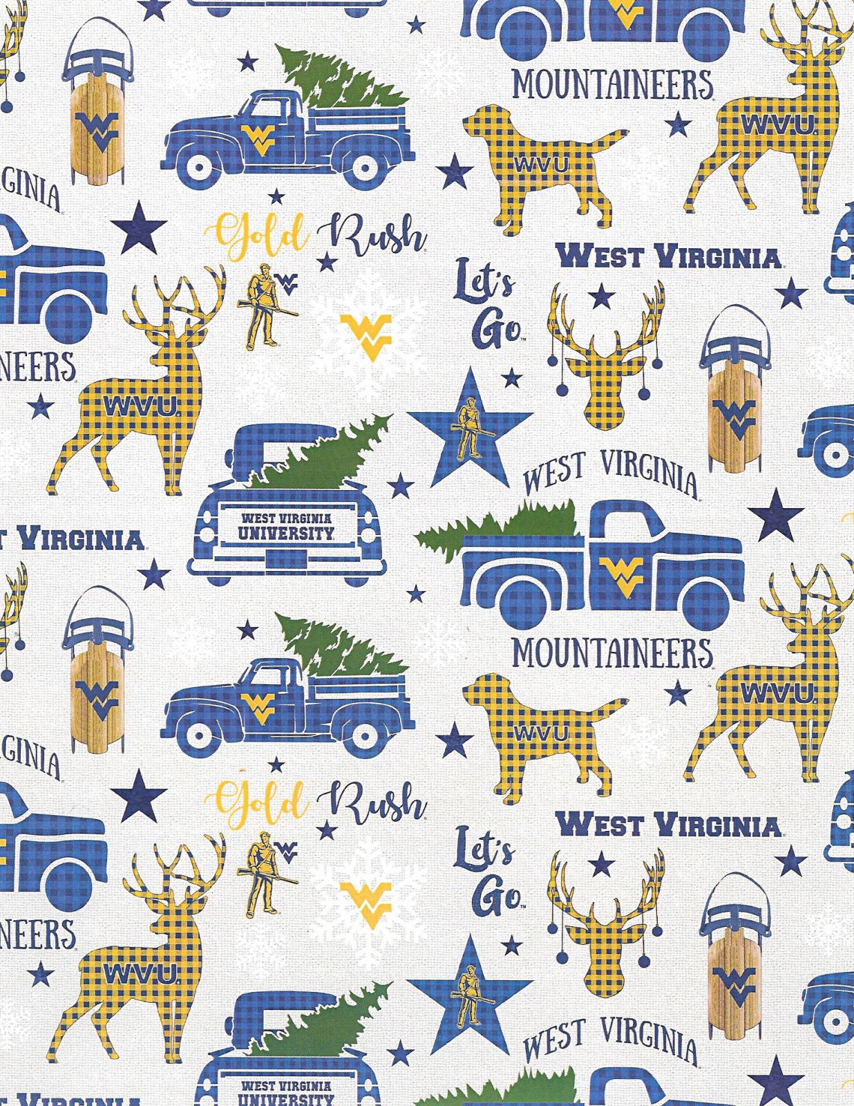 NCAA West Virginia Mountaineers 1213 Christmas