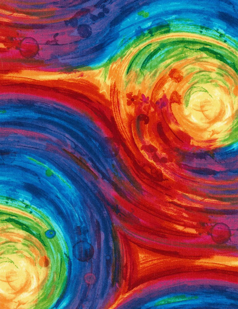 Painted Swirl C5755 Multi Color 108 Wide