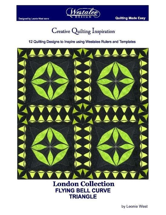 Westalee London Collection Flying Bell Curve Triangles: 12 Bell Curve Triangle Designs Book