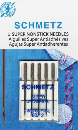 Schmetz Super Nonstick Needles 80/12