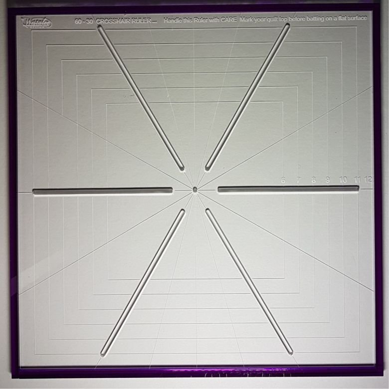 Westalee Crosshair Square CHS6PT-12.5 Template