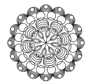 Westalee Artisan Curve Circle ARTCIRCLE5 Template