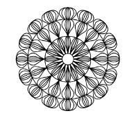 Westalee Artisan Curve Teardrop ARTTEARDROP40 Template