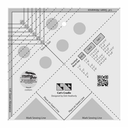 Creative Grids Cats Cradle Ruler