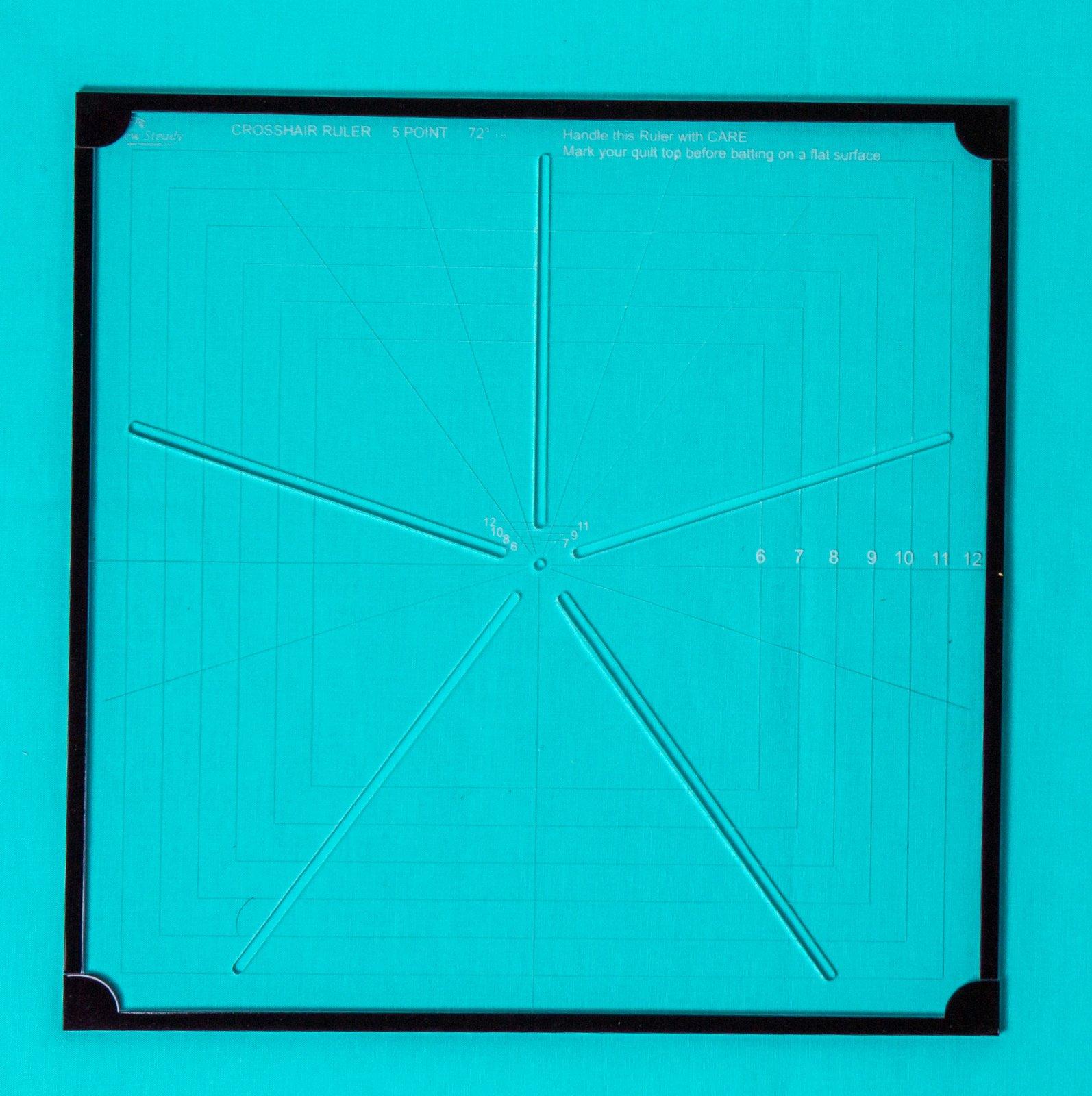 Westalee Crosshair Square CHS5PT-12.5 Template