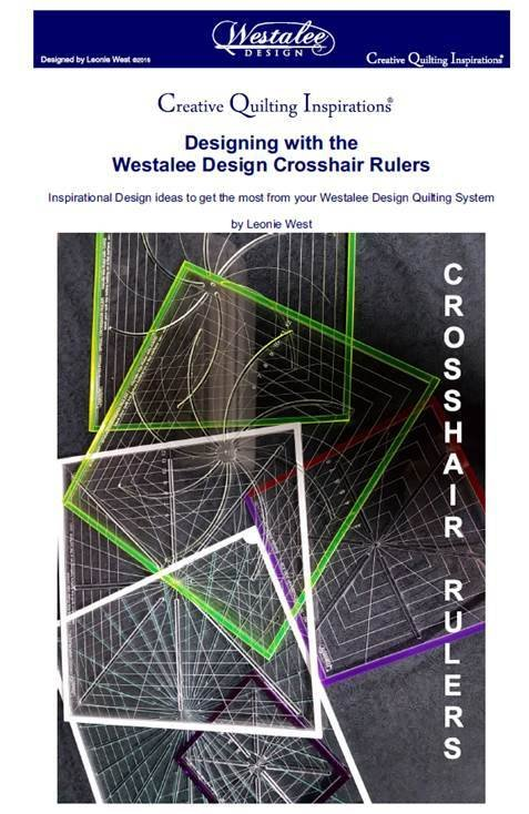 Westalee Creative Quilting Inspirations - Designing With the CrossHair Square Book