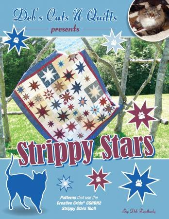 Creative Grid Strippy  Stars Ruler Book