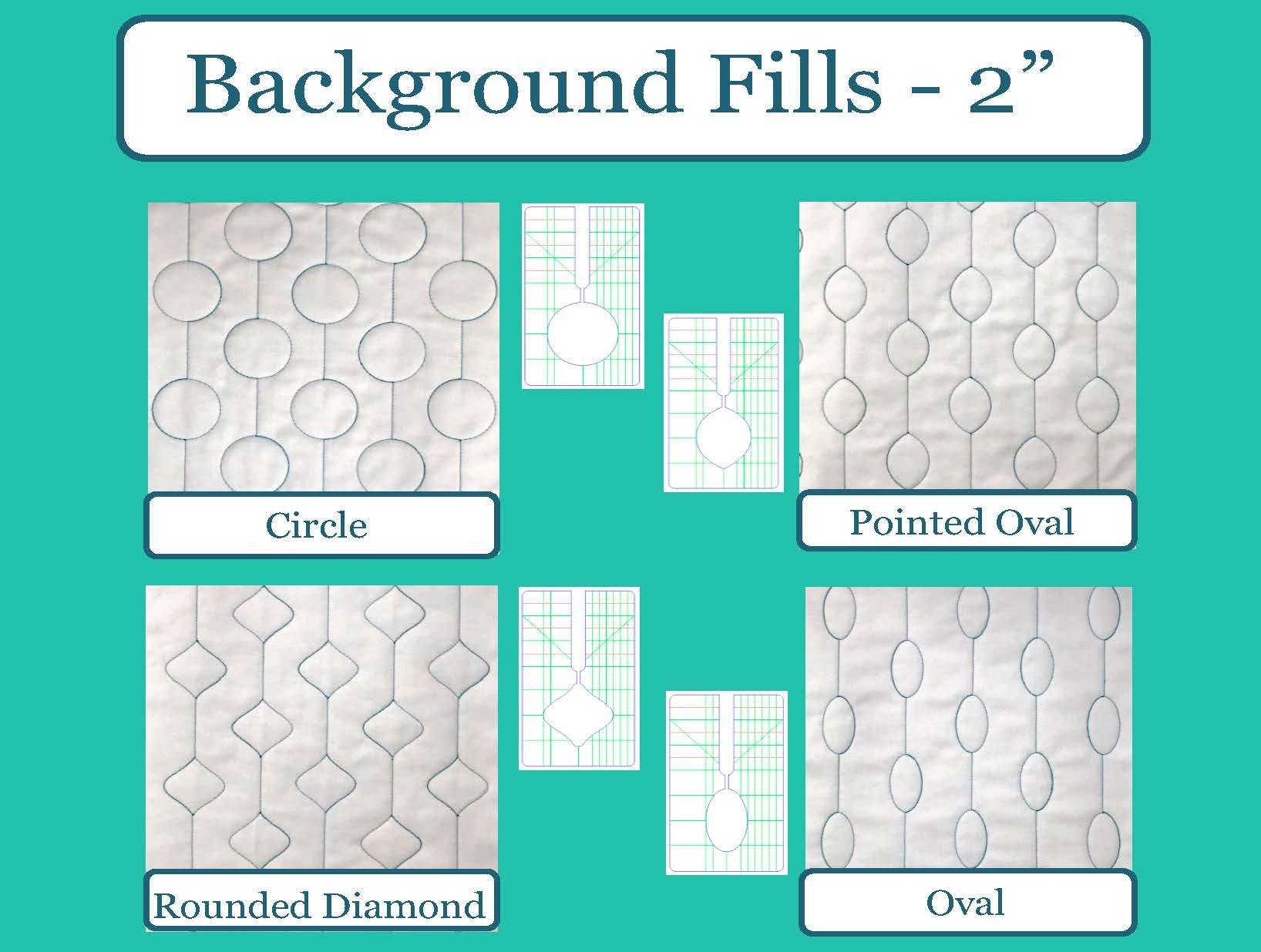 SEW BIZ BACKGROUND FILLS 4PC SET 2in DESIGNS
