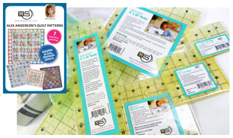 Quilters Select 5 Quilting Ruler Pack w/ Free Patterns