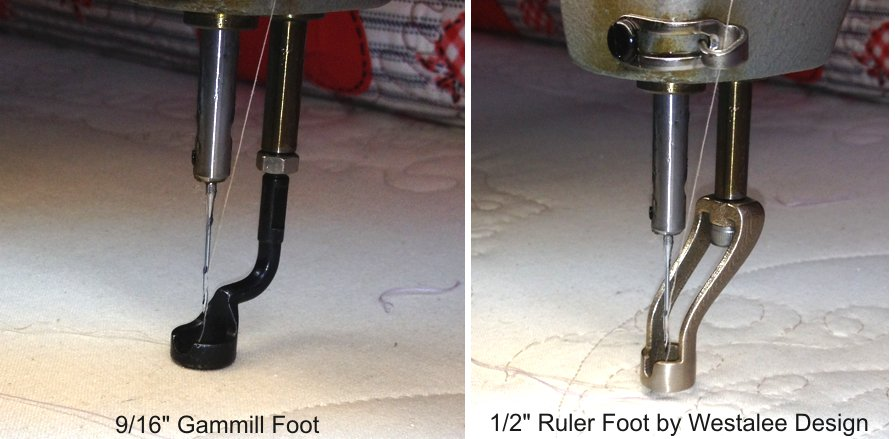 Westalee Design 1/2 Gammill Ruler Foot