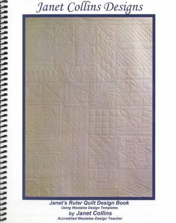 Westalee Janet Collins Ruler Quilt Design Book