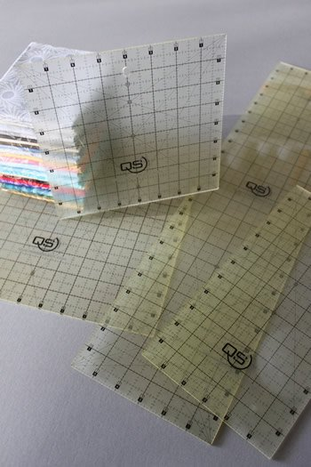 Quilters Select Non-Slip Rulers - Squares plus 1/2