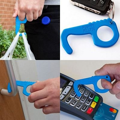 Push Me Pull You with Holder - Blue