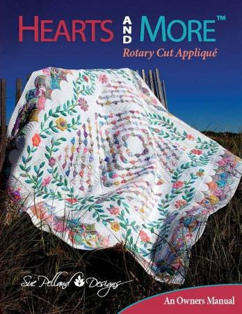 Hearts and More Rotary Cut Applique Book